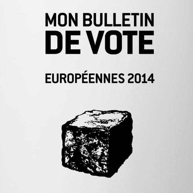 MUG bicolore européennes 2014