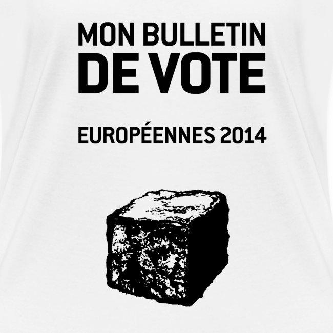T-SHIRT femme col V européennes 2014