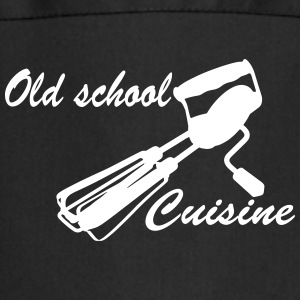 Old School Cuisine  Aprons - Cooking Apron