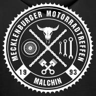 Motiv ~ Biker Motiv Hoddie Kapuzenpullover Rocker Style