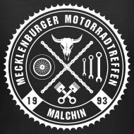 Motiv ~ Biker Motiv T-Shirt für Frauen