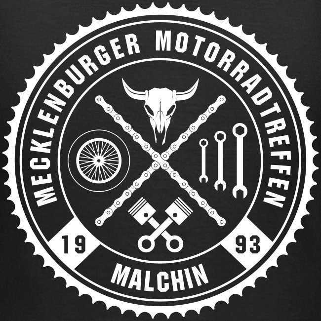 Biker Motiv T-Shirt für Frauen