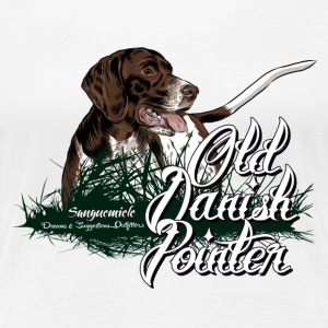 old_danish_pointer T-Shirts - Frauen Premium T-Shirt