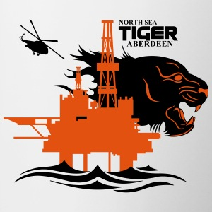 North Sea Tiger Oil Rig Platform Aberdeen - Mug