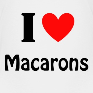 I love Macarons Shirts - Teenager Premium T-shirt