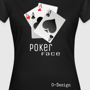 G-D Pokerface Shirt - Frauen T-Shirt