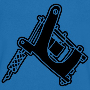 Tattoomaschine Tattoomachine tattoo machine Ink T-shirts - T-shirt med v-ringning herr