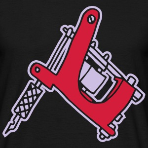 Tattoomaschine Tattoomachine tattoo machine Ink T-shirts - Herre-T-shirt