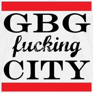 GBG fucking City - Men's Premium T-Shirt
