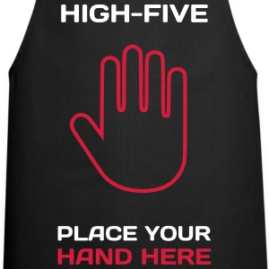 Funny Idea - High Five T-Shirts for Parties  Aprons - Cooking Apron