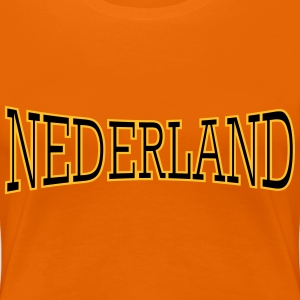 Nederland 2 coulors T-Shirts - Frauen Premium T-Shirt