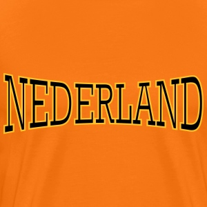 Nederland 2 coulors T-shirts - Premium-T-shirt herr