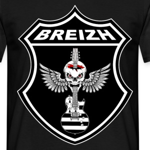 Breizh Rock'n'Roll power 03 Tee shirts - T-shirt Homme