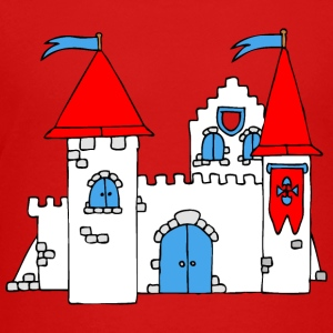 Medieval Castle Shirts - Teenage Premium T-Shirt