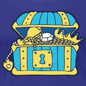 Open Treasure Chest T-Shirts - Women's Premium T-Shirt