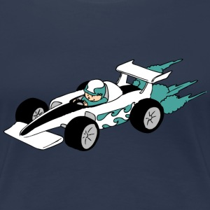 Formula Race car T-Shirts - Women's Premium T-Shirt