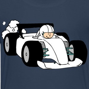Formula Race car Shirts - Teenage Premium T-Shirt