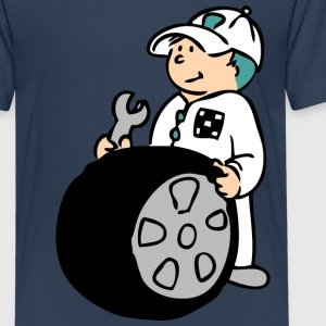 Pit Crew Shirts - Teenage Premium T-Shirt