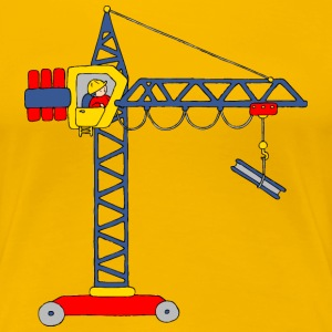 Tower Crane T-Shirts - Women's Premium T-Shirt