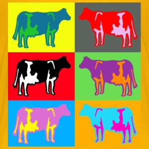 6 coloured cows multicolour Shirts - Kids' Premium T-Shirt