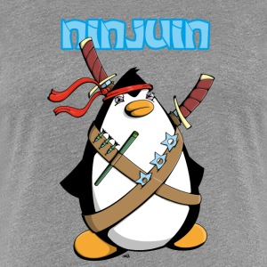Ninjuin - The Ninja Penguin T-Shirts - Women's Premium T-Shirt