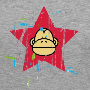 Monkey Red Star - Monkey Revolution Long Sleeve Shirts - Women's Premium Longsleeve Shirt