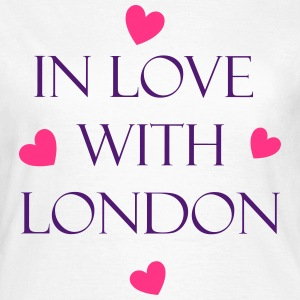 In Love With Lodon T-shirts - Vrouwen T-shirt