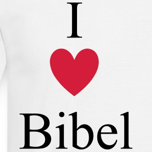 I Love Bibel T-skjorter - T-skjorte for menn