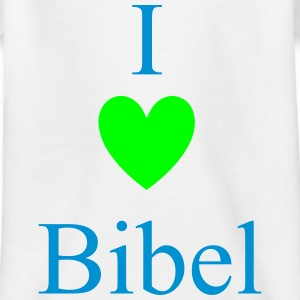 I Love Bibel Skjorter - T-skjorte for barn