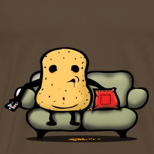 Lazy potato T-Shirts - Men's Premium T-Shirt