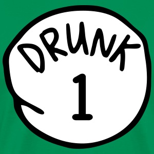 Drunk 1 - Men's Premium T-Shirt