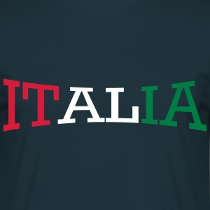 italia_3_colore Tee shirts - T-shirt Homme