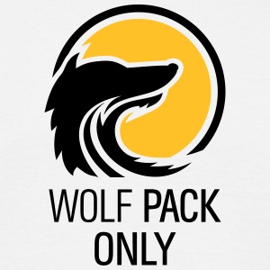 Wolfpack Only Hangover Crew mit Wolf 2c T-Shirts - Männer T-Shirt