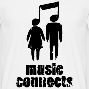 Music Connects T-Shirts - Men's T-Shirt