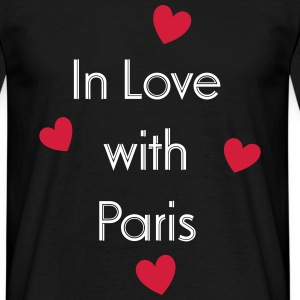 In Love With Paris T-skjorter - T-skjorte for menn