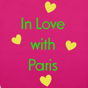 In Love With Paris Bags & Backpacks - EarthPositive Tote Bag