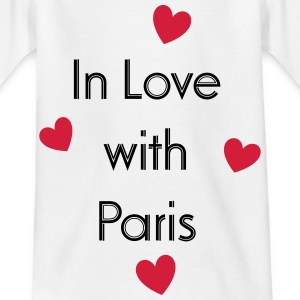 In Love With Paris T-Shirts - Kinder T-Shirt