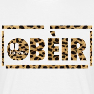 obeir luxfashion leopart T-shirts - Herre-T-shirt