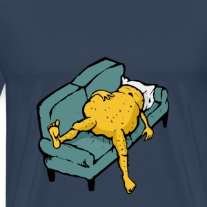 Lazy potato sleeping  T-Shirts - Men's Premium T-Shirt