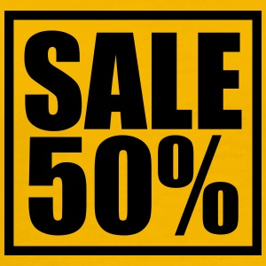 Sale sale reduced 50 percent T-Shirts - Men's Premium T-Shirt