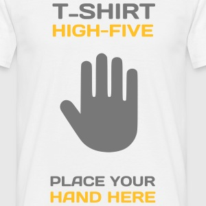 Funny Idea - High Five T-Shirts for Events T-Shirts - Männer T-Shirt
