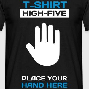 Funny Idea - High Five T-Shirt for Events 2 T-Shirts - Men's T-Shirt