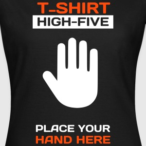Funny Idea - High Five T-Shirt for Events 2 T-Shirts - Frauen T-Shirt
