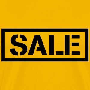Sale percentage sale reduced price tag T-Shirts - Men's Premium T-Shirt