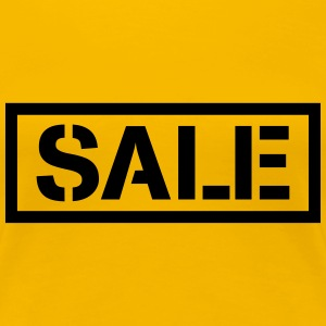 Sale percentage sale reduced price tag T-Shirts - Women's Premium T-Shirt