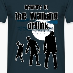 walking drunk T-Shirts