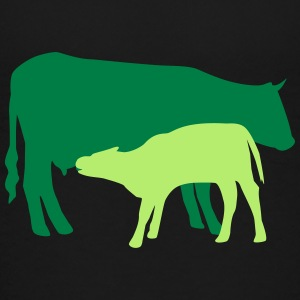 cow and calf coloured Skjorter - Premium T-skjorte for barn
