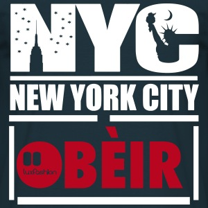 OBÈIR New York City - Herre-T-shirt