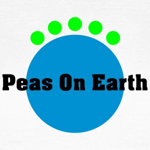 peas on earth T-shirts - Dame-T-shirt