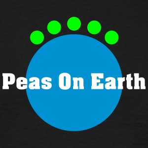 peas on earth Tee shirts - T-shirt Homme